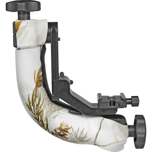 LensCoat Tripod Head Cover for the Jobu BWG-Pro/Pro2 Gimbal Head (Realtree AP Snow)