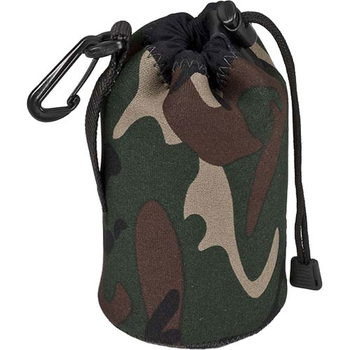 LensCoat LensPouch (Large, Forest Green Camo)