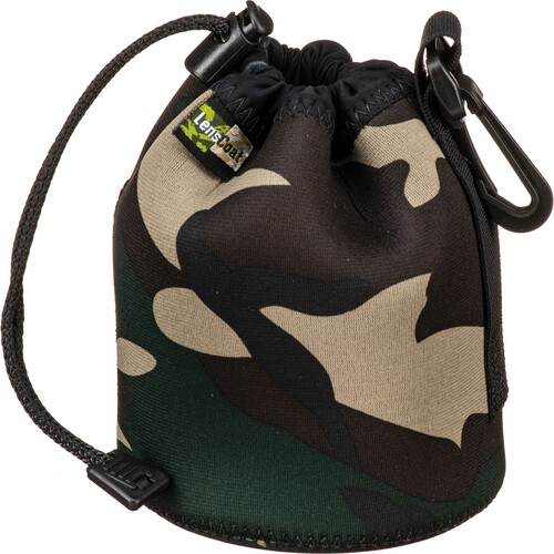 LensCoat LensPouch (Small Wide, Forest Green Camo)