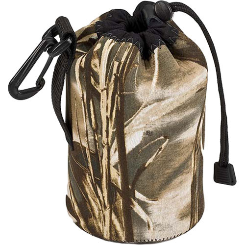 LensCoat LensPouch (Small Wide, Realtree MAX-4)
