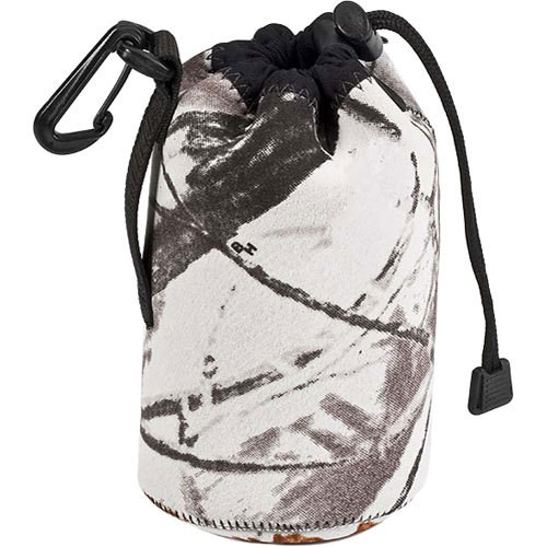 LensCoat LensPouch, Small Wide (Realtree AP Snow)