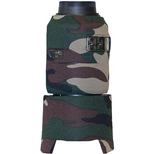 LensCoat Lens Cover for AF Micro-Nikkor 105mm f/2.8G ED-IF AF-S VR Lens (Forest Green)