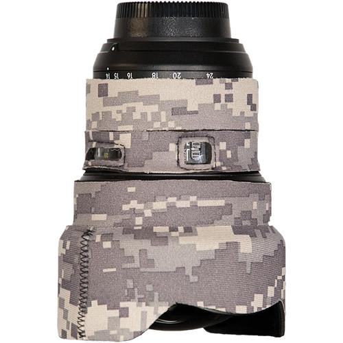 LensCoat Lens Cover for the Nikon 14-24mm f/2.8 Zoom AF Lens (Digital Camo)