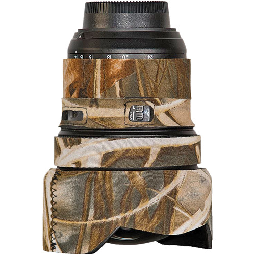 LensCoat Lens Cover for the Nikon 14-24mm f/2.8 Zoom AF Lens (Realtree Max4)