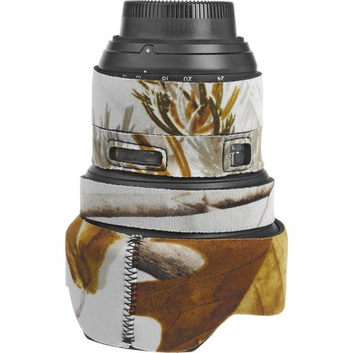 LensCoat Lens Cover for the Nikon 14-24mm f/2.8 Zoom AF Lens (Realtree AP Snow)