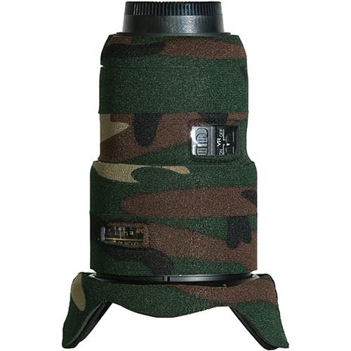 LensCoat Lens Cover for Nikon 16-35 f/4 ED VR Lens (Forest Green Camo)