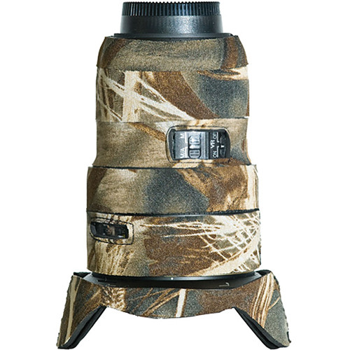 LensCoat Lens Cover for Nikon 16-35 f/4 ED VR Lens (Realtree Max4 HD)