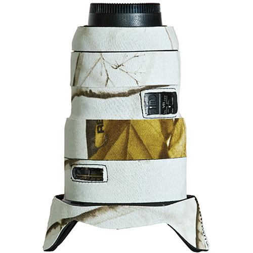 LensCoat Lens Cover for Nikon 16-35 f/4 ED VR Lens (Realtree AP Snow)