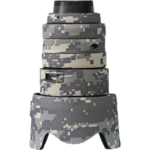 LensCoat Lens Cover for Nikon 17-55mm f/2.8G IF-ED AF Lens (Digital Camo)