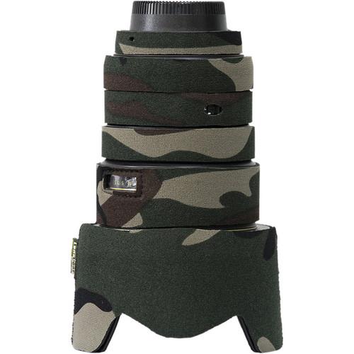 LensCoat Lens Cover for Nikon 17-55mm f/2.8G IF-ED AF Lens (Forest Green Camo)