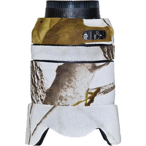 LensCoat Lens Cover for the Nikon 18-105mm f/3.5-5.6G Lens (Realtree AP Snow)