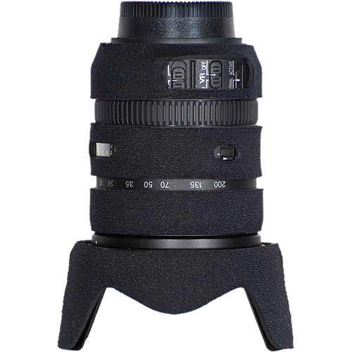 LensCoat Lens Cover for the Nikon 18-200mm f/3.5-5.6 G VRII Lens (Black)
