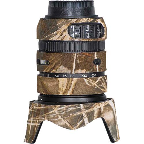 LensCoat Lens Cover for Nikon 18-200mm f/3.5-5.6 G VRII Lens (Realtree Max4 HD)