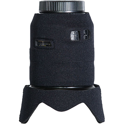 LensCoat Lens Cover for Nikon 24-120 f/3.5-5.6 AF-S VR Lens (Black)