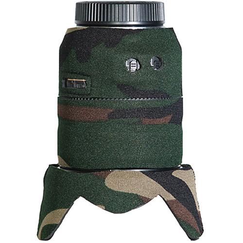 LensCoat Lens Cover for Nikon 24-120 f/3.5-5.6 AF-S VR Lens (Forest Green Camo)