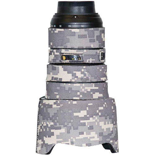 LensCoat Lens Cover for the Nikon 24-70mm f/2.8 Zoom AF Lens (Digital Army Camo)