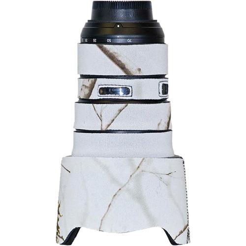 LensCoat Lens Cover for the Nikon 24-70mm f/2.8 Zoom AF Lens (Realtree AP Snow)