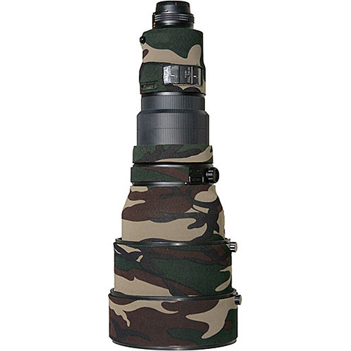 LensCoat Lens Cover for Nikon 400mm f/2.8 AF-S II Lens (Forest Green Camo)
