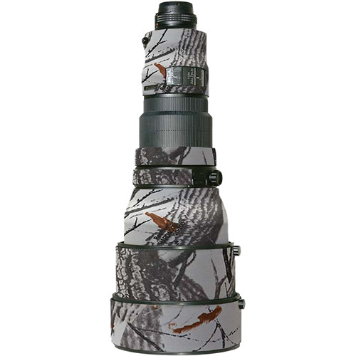 LensCoat Lens Cover For the Nikon 400mm f/2.8 AF-S I Lens (Realtree AP Snow)