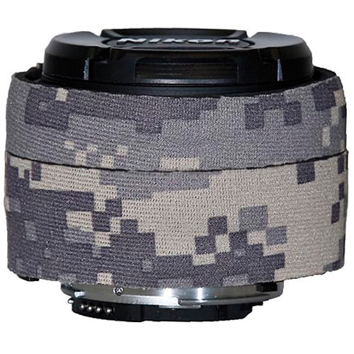 LensCoat Lens Cover for the Nikon 50mm f/1.8D AF Lens (Digital Army Camo)