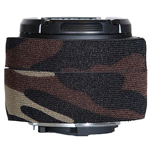 LensCoat Lens Cover for Nikon 50mm f/1.8D AF Lens (Forest Green Camo)