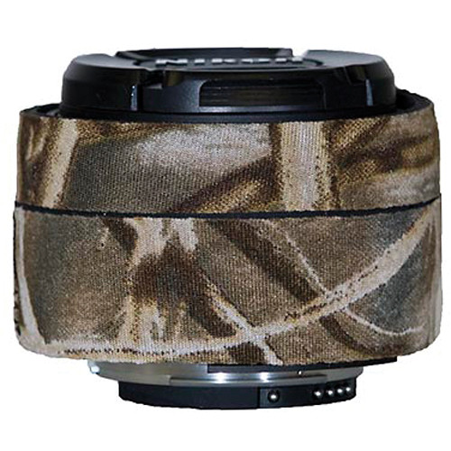 LensCoat Lens Cover for Nikon 50mm f/1.8D AF Lens (Realtree Max4 HD)