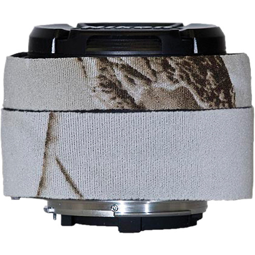 LensCoat Lens Cover for Nikon 50mm f/1.8D AF Lens (Realtree APS Snow)