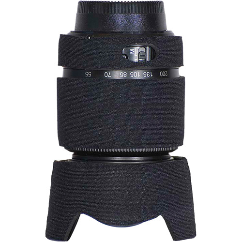 LensCoat Lens Cover for the Nikon 55-200mm f/4.0-5.6G DX Lens (Black)