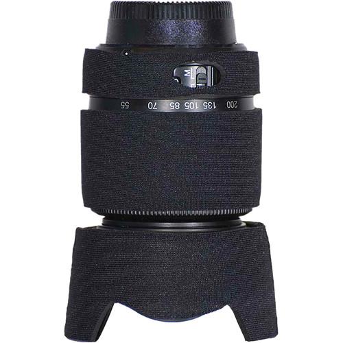 LensCoat Lens Cover for the Nikon 55-200mm f/4.0-5.6G DX Lens (Black)