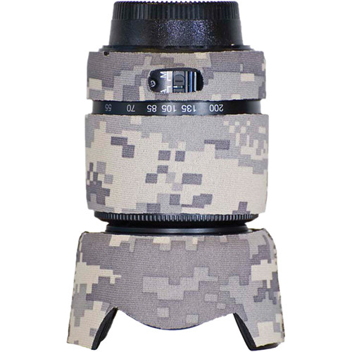 LensCoat Lens Cover for the Nikon 55-200mm f/4.0-5.6G DX Lens (Digital Army Camo)