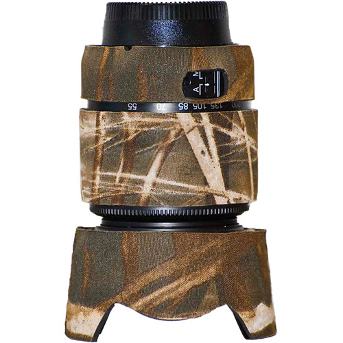 LensCoat Lens Cover for the Nikon 55-200mm f/4.0-5.6G DX Lens (Realtree Max4 HD)