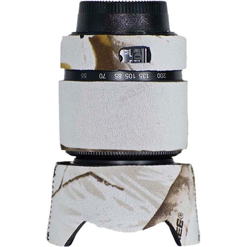 LensCoat Lens Cover for the Nikon 55-200mm f/4.0-5.6G DX Lens (Realtree AP Snow)