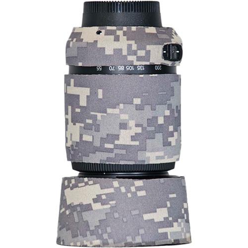 LensCoat Lens Cover for Nikon 55-200 f/4-5.6G ED AF-S VR DX Lens (Digital Camo)
