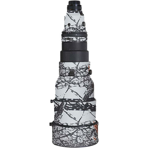 LensCoat Lens Cover For the Nikon 600mm f/4 AF I Lens (Realtree AP Snow)