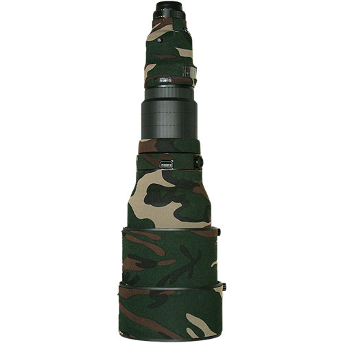LensCoat Lens Cover for Nikon 600mm f/4 AF-S II Lens (Forest Green Camo)