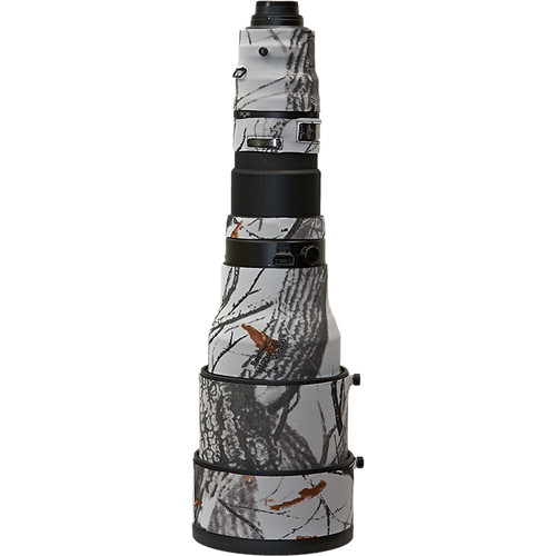 LensCoat Lens Cover for the Nikon AF-S Nikkor 600mm f/4G ED VR AF Lens (Realtree AP Snow)