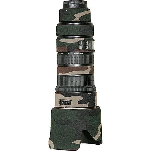 LensCoat Lens Cover For the Nikon AF-S Nikkor 70-200mm f/2.8 VR Lens (Forest Green)