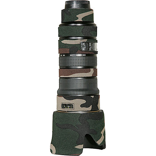 LensCoat Lens Cover For the Nikon AF-S Nikkor 70-200mm f/2.8 VR Lens (Forest Green)