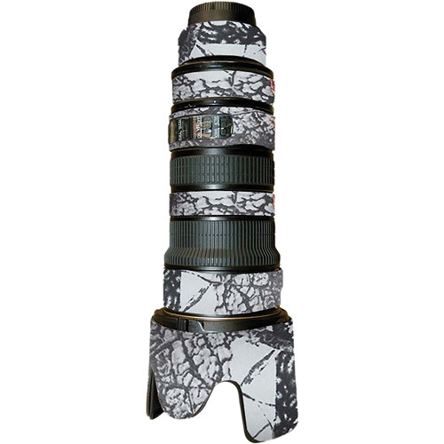 LensCoat Lens Cover For the Nikon AF-S Nikkor 70-200mm f/2.8 VR Lens (Realtree AP Snow)