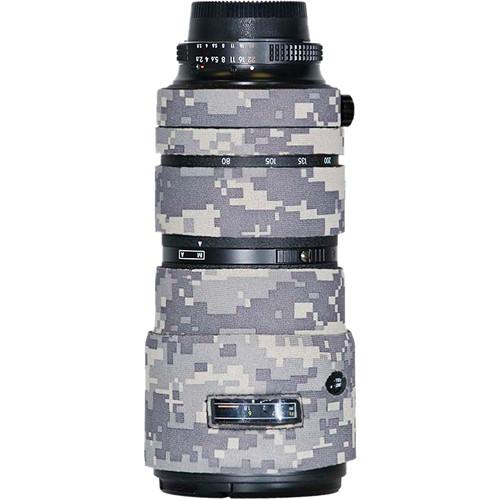 LensCoat Lens Cover for Nikon 80-200mm f/2.8 ED AF-D Lens (Digital Army Camo)