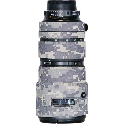 LensCoat Lens Cover for Nikon 80-200mm f/2.8 ED AF-D Lens (Digital Army Camo)