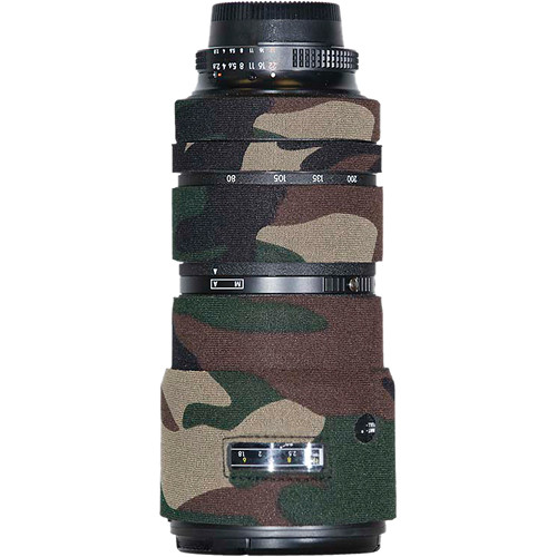 LensCoat Lens Cover for Nikon 80-200mm f/2.8 ED AF-D Lens (Forest Green Camo)