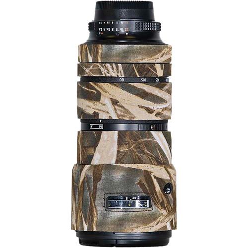 LensCoat Lens Cover for Nikon 80-200mm f/2.8 ED AF-D Lens (Realtree Max4 HD)