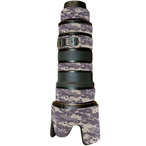 LensCoat Lens Cover For the AF VR Zoom-Nikkor 80-400mm f/4.5-5.6D ED Lens (Digital Camo)