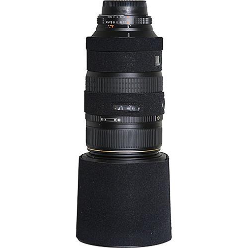 LensCoat Lens Cover For the AF VR Zoom-Nikkor 80-400mm f/4.5-5.6D ED Lens (Black)