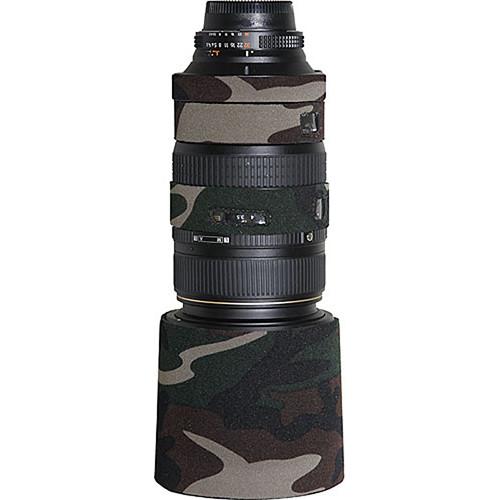 LensCoat Lens Cover For the AF VR Zoom-Nikkor 80-400mm f/4.5-5.6D ED Lens (Forest Green)