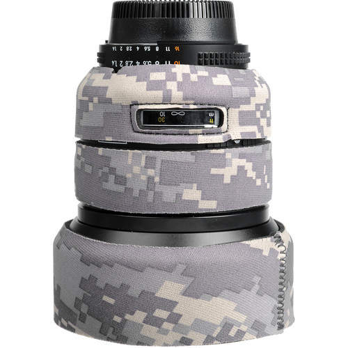 LensCoat Lens Cover For the Nikon 85mm f/1.4 D IF Lens (Digital Army Camo)