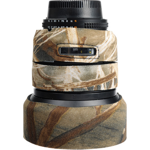 LensCoat Lens Cover for Nikon 85mm f/1.4 D IF Lens (Realtree Max4)