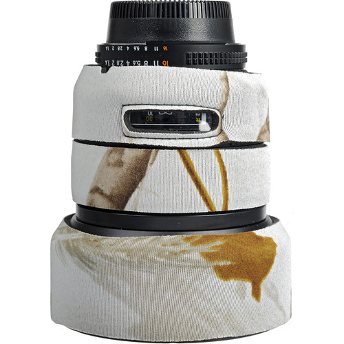 LensCoat Lens Cover for Nikon 85mm f/1.4 D IF Lens (Realtree AP Snow)