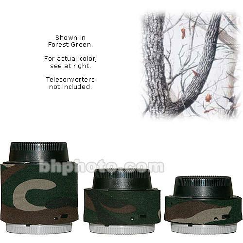 LensCoat Lens Covers for the Nikon Teleconverter Set (Realtree AP Snow)